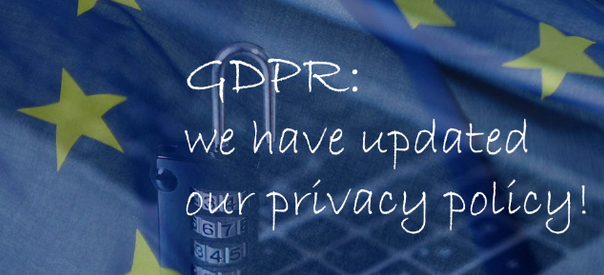 GDPR:  Privacy Policy